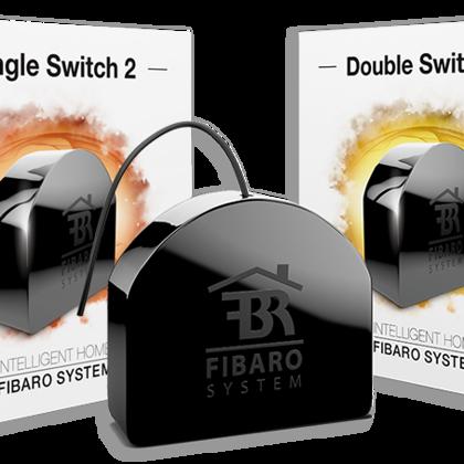 FIBARO - Module relais 1 ou 2 charges Z-Wave FGS-213 ou 223